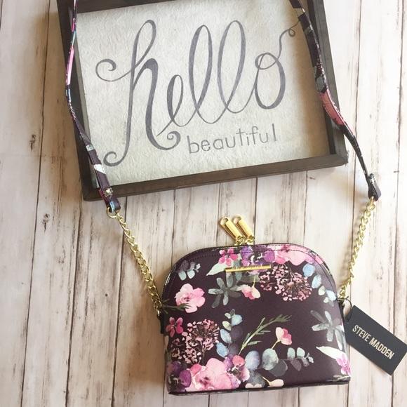 29% Off Steve Madden Handbags - Floral Steve Madden BMarylin Crossbody Bag NWT From Brookeu0026#39;s ...
